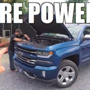 dyno tests a new 2017 5.3 V8 Chevrolet Silverado